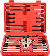 DASBET 46Pcs Harmonic Balancer Puller Set, Steering Wheel Puller, Gear Puller, Crank Shaft Pulley w/Case