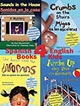 4 Spanish-English Books for Kids (Four Kids Books) (English and Spanish Edition)