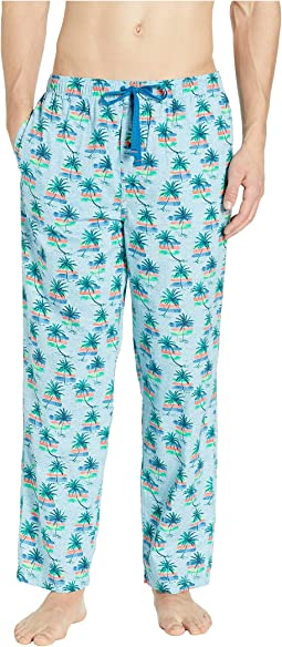 Palm Trees Woven Pants