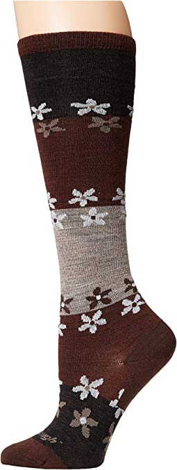 Darn Tough Vermont Flowers Knee High Light Socks