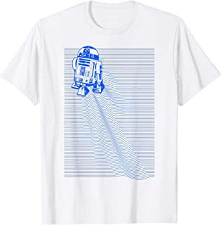 Star Wars R2-D2 Trail Lines Camiseta