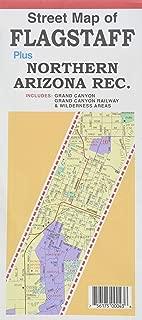 Street Map of Flagstaff plus Northern Arizona Rec.