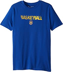 Basketball Wordmark Short Sleeve Tee (Big Kids)