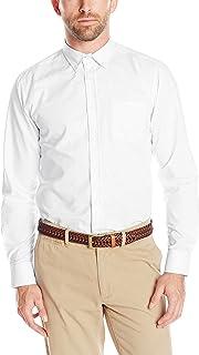 IZOD Uniform Young Men's Long Sleeve Button-down Oxford...