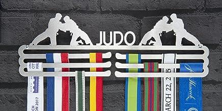 The Runners Muur Mannelijke Judo RVS Medal Hanger Display