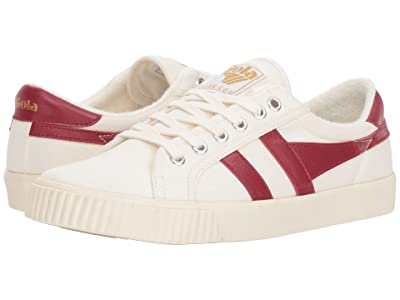 Gola Tennis Mark Cox (Off-White/Deep Red) Women