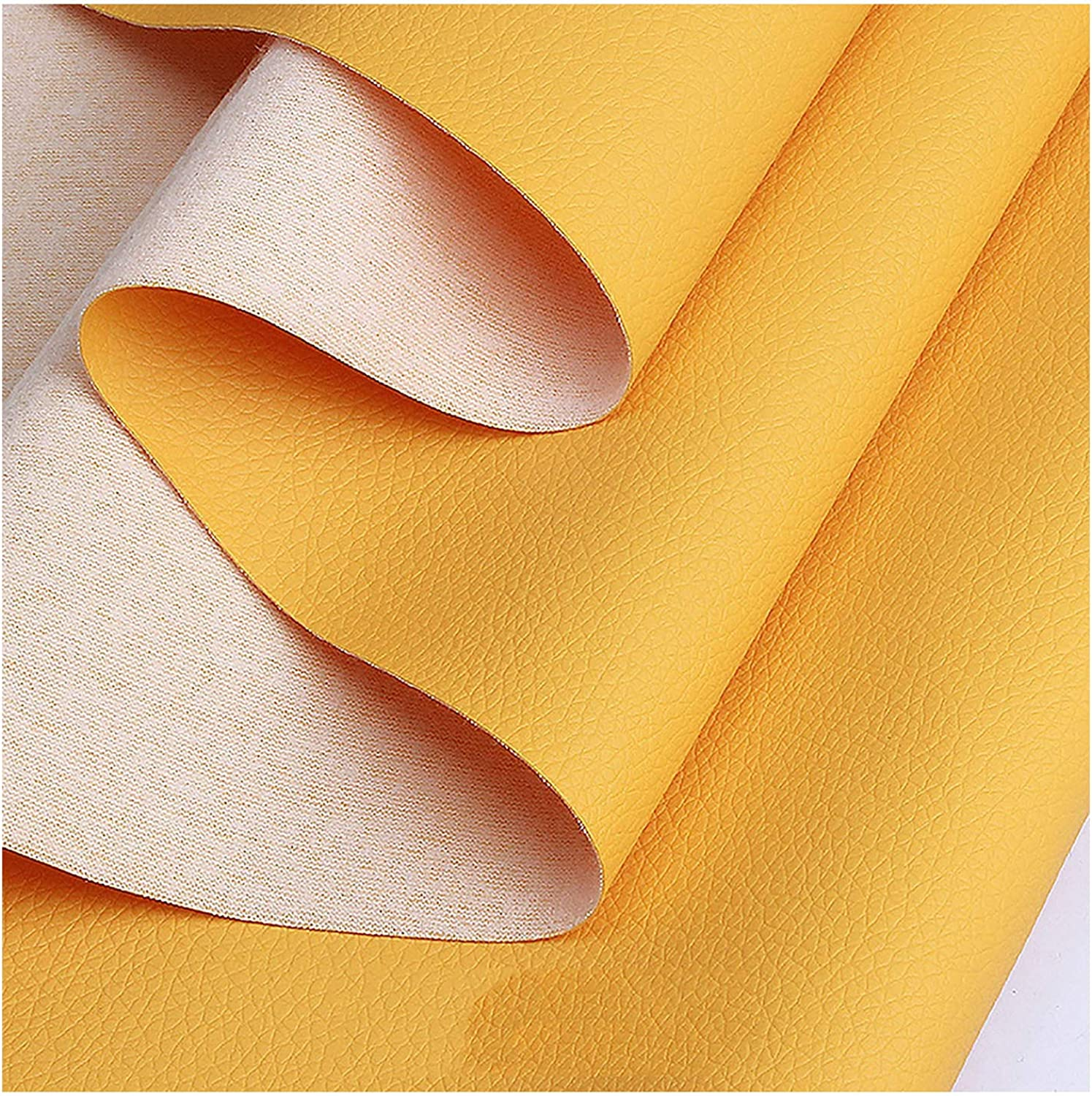 ZHIHEHE PU Luxury Faux Fabric Leather for Sewing Dressing Perfect Great interest Sheet