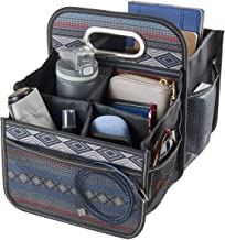 High Road Front and Back Seat Car Organizer Caddy with Movable Dividers (Southwest)