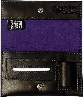 Pellein - Portatabacco in vera pelle Viola Hero - Astuccio porta tabacco, porta filtri, porta cartine e porta accendino. H...