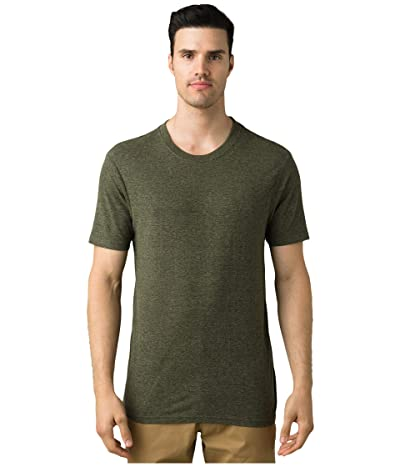 Prana Cardiff T-Shirt (Climbing Ivy Heather) Men