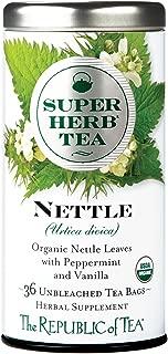 The Republic of Tea Organic Nettle Superherb Herbal Tea (36 Tea Bags)
