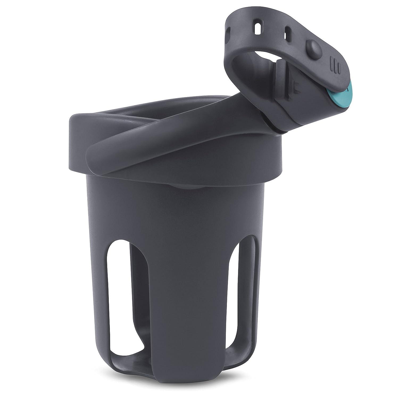 Munchkin Brica Drink Pod Stroller Drink Holder, Blue/Grey