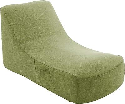 セルタン 日本製 カバーが洗える 圧縮 座椅子 タスクグリーン 和楽のため息 収納ポケット付 A911a-583GRN