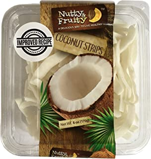 Dried Coconut Strips Chips