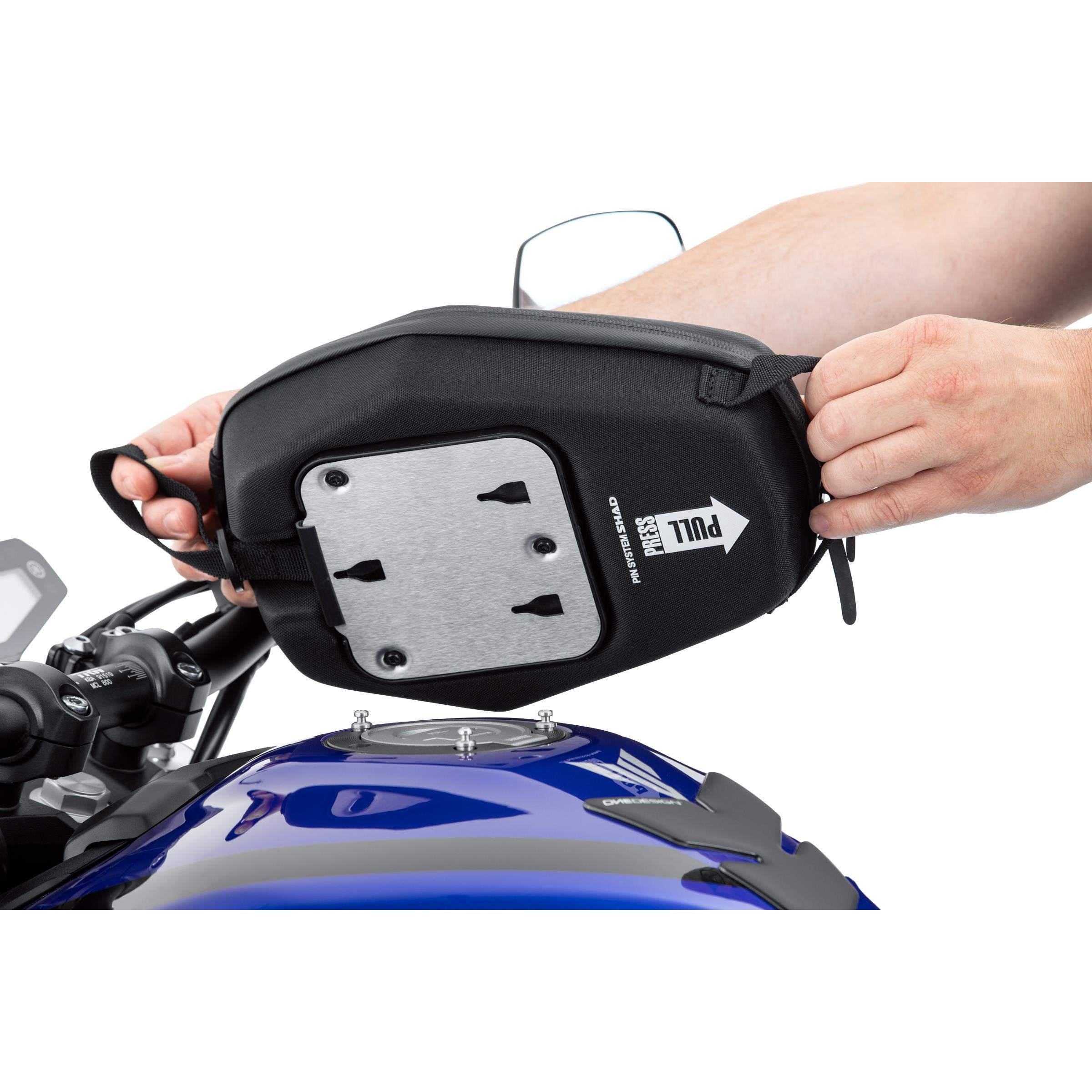 SHAD X0SE04P Bolsa Depósito E04P Pin System, Negro, 6.6: Amazon.es: Coche y moto
