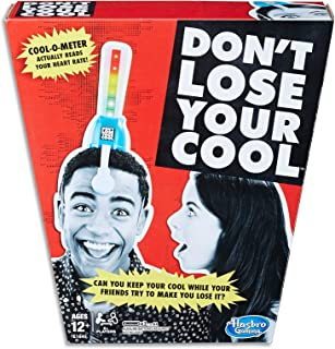 Don't Lose Your Cool - Cool o Meter Reads Your Heart Rate - 2+ Players - Board Games & Kids Toys - Ages 12+