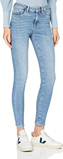 bestseller A/S Women's SLFSOPHIA MW Skinny MID Jean U NOOS, Medium Blue (Medium Blue Denim), One Size