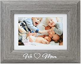 Lawrence Frames Mom Picture Frame, 4x6, Gray