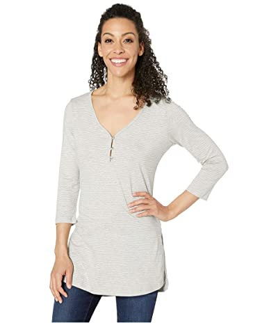 Toad&Co Tamaya Tres Tunic (Heather Grey Mini Stripe) Women