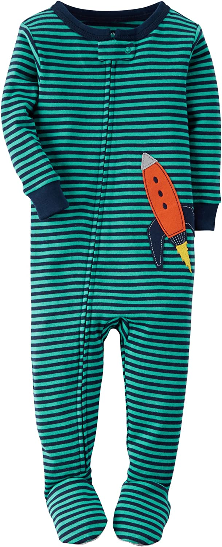 Carter's Baby Boys' 1 Piece Cotton Sleepwear