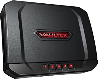 Vaultek VT20 Handgun Bluetooth Smart Safe Pistol Safe with Auto-Open Lid and Rechargeable Battery (Not Compatible with Smart Key)