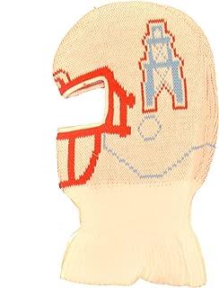 Game Face Houston Oilers Helmet Ski Mask Beanie Hat - NFL Tennessee Titans Vintage Cuffless Winter Knit Skull Cap