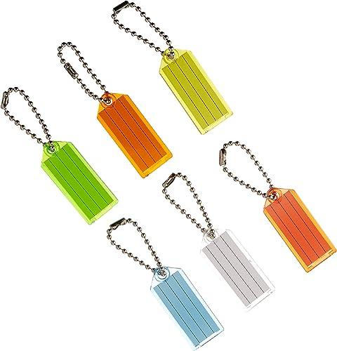 HY-KO PROD Office Storage Accessory , 100 Pack ID Key Tag chaîne (KB140-100)
