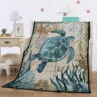 Best turtle fleece throw Reviews