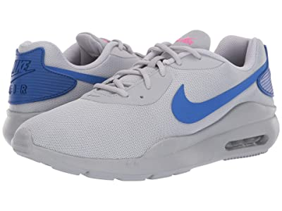 Nike Air Max Oketo (Wolf Grey/Racer Blue/Laser Fuchsia) Men
