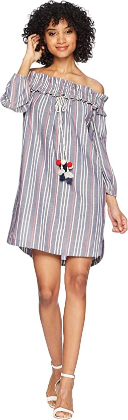 kensie Lawn Chair Stripe Dress KS5K8206