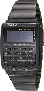 Casio CA506B-1AVT Reloj Digital Unisex Cuadrado, Negro