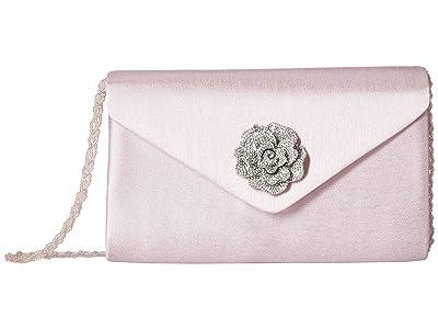 Adrianna Papell Karine (Pink/Silver) Clutch Handbags
