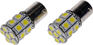 Dorman 1156W-SMD White LED Turn Signal Light Bulb, (Pack of 2)