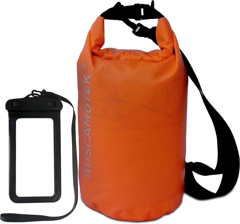 AUSCAMOTEK mart Waterproof Dry Bag Max 90% OFF 5L 10L Roll 20L 30L Top Compre