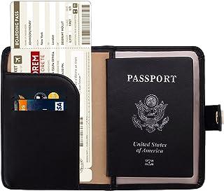 19ac7b4012ff Zoppen Rfid Blocking Travel Passport Holder Cover Slim Id Card Case