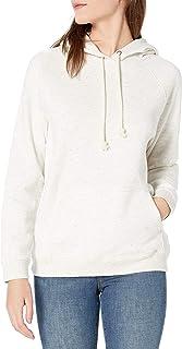 Goodthreads Heritage - Sudadera de Forro Polar con Costuras Camisa de Vestir para Mujer