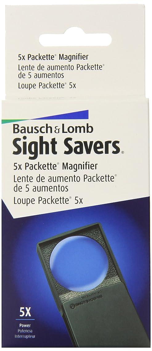 専門用語バス噛むBausch & Lomb BAL813133 Round Magnifier with Cover- 5x- 2in.- Black Frame