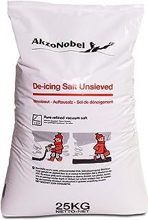 Opgestout zout strooizout 25kg zak # klasse korrel # steenzout
