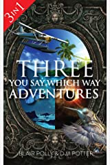 Box Set: Three You Say Which Way Adventures: Between the Stars, Danger on Dolphin Island, Secrets of Glass Mountain Kindle Edition