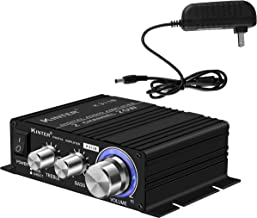 Kinter K3118 Texas Instruments TI Digital Hi-Fi Audio Mini Class D Home Auto DIY Arcade Stereo Amplifier with 12V 3A Power...