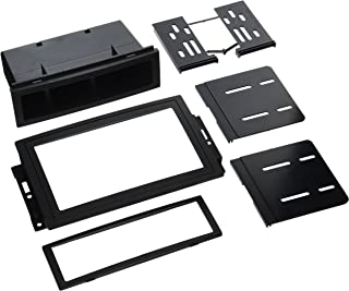 SCOSCHE CR1289B Single or Double DIN Car Stereo in-Dash Install Kit Compatible with 2005-Up Chrysler 300C, Dodge Magnum/Charger, Durango, RAM/Mega RAM, Jeep Grand Cherokee and Commander Vehicles