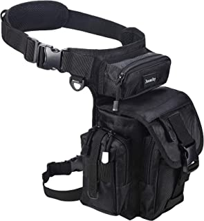 Multifunctional Drop Leg Waist Bag, Tactical Military Thigh Hip Outdoor Pack Tool Pouch