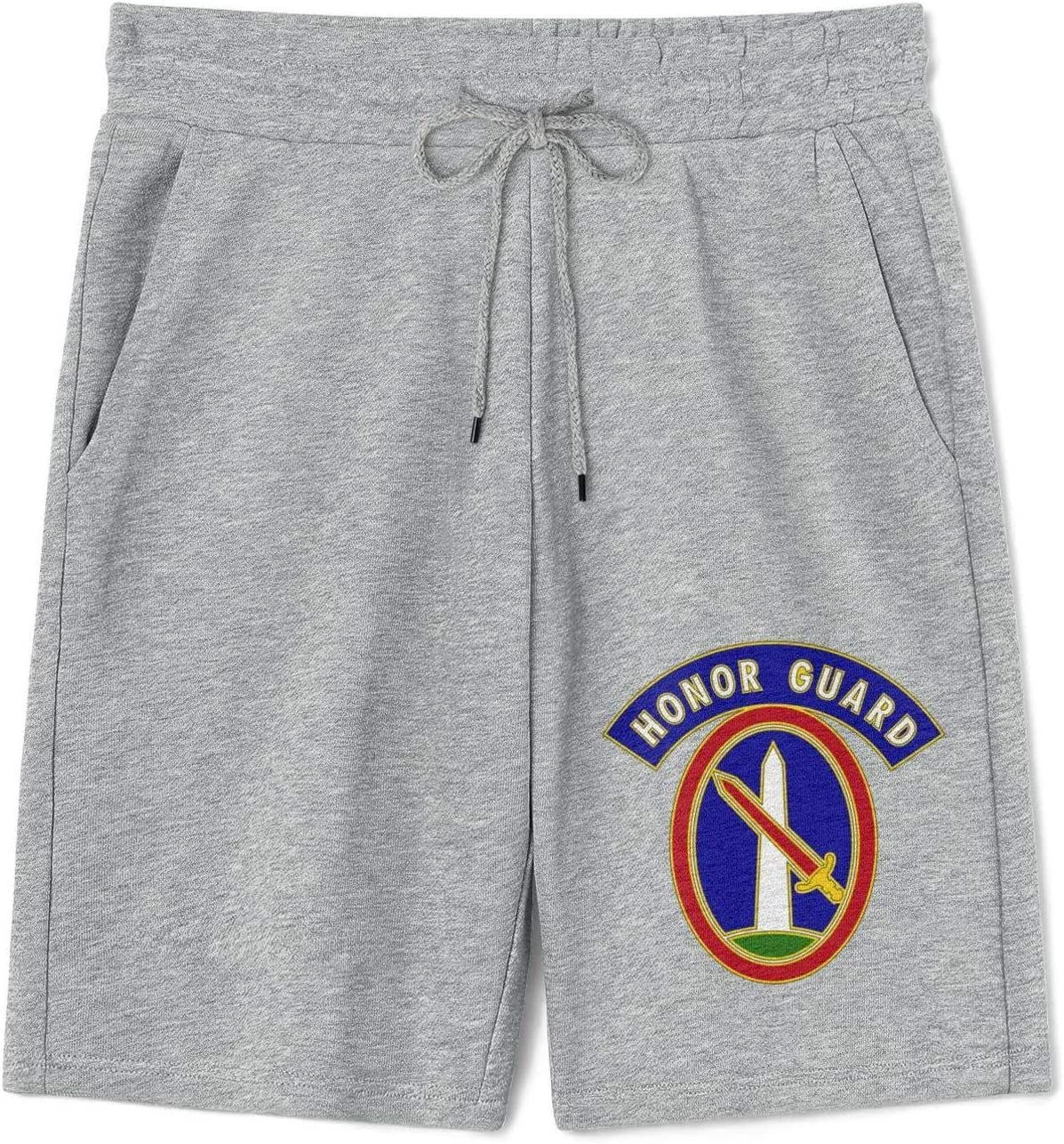 Mens Sports Shorts 3D-Operations-Support-Squadron- Cotton Short Athlete Drawstring Short with Pocket