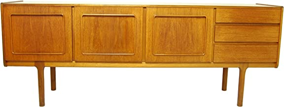McIntosh Mid Century Modern Credenza or Media Console with Stunning Grain and Styling