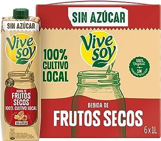 comprar comparacion Vivesoy Frutos Secos sin Azúcar (pack de 6 x 1L)
