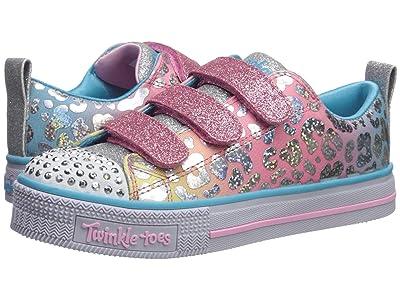 SKECHERS KIDS Twinkle Toes Twinkle Lite 20301L (Little Kid/Big Kid) (Pink/Multi) Girl