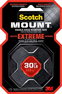 Scotch-Mount Extreme Double-Sided Mounting Tape 414H, 1 in x 60 in