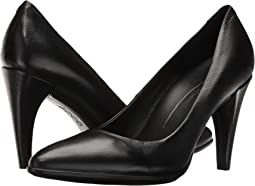 c6dff96c64 Black Calf Leather. 78. ECCO. Shape 75 Pointy Pump