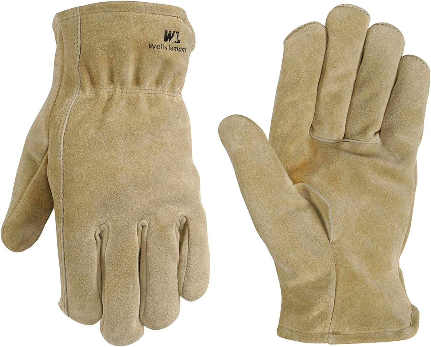 Leather Winter Work Gloves Don't miss the campaign Spli Thinsulate 100-gram Philadelphia Mall Insulation