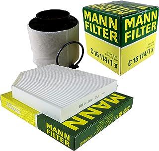 MANN FILTER Inspektions Set Inspektionspaket Luftfilter Innenraumfilter